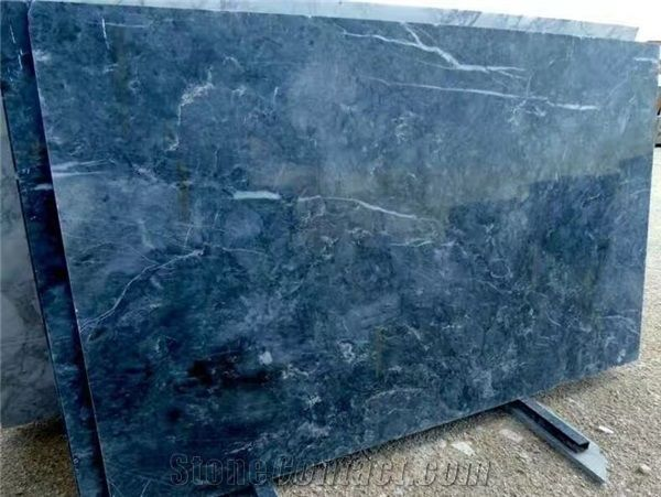 Ocean Blue Marble Tiles Slabs From China 648198 Stonecontact Com Blue Marble Tile Blue Marble Marble Tiles