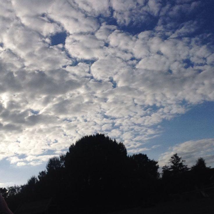 Skies are pretty