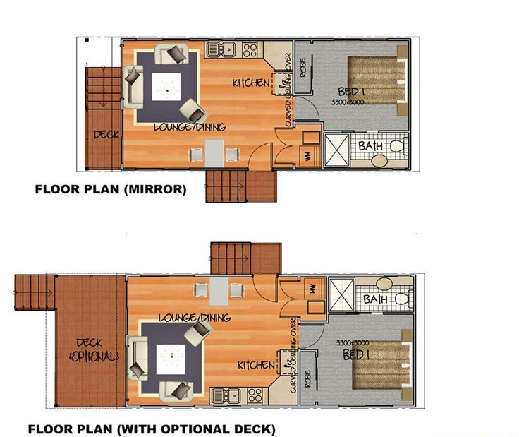 29 best coastal condo project images on pinterest small for Condo plans with garage