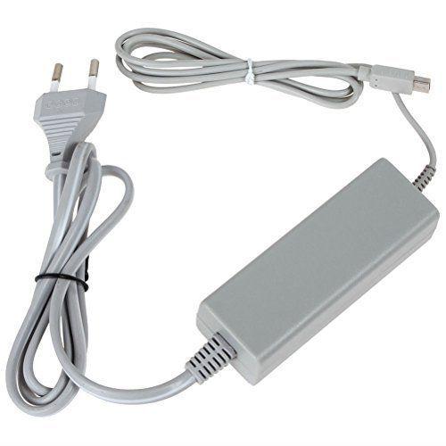 MP power @ Chargeur Alimentation Adaptateur pour Nintendo Wii U Manette Gamepad: remplacement pour l'adaptateur original courant alternatif…