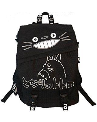Mein Nachbar Totoro Anime Karikatur Segeltuch Rucksackbeutel Schultasche