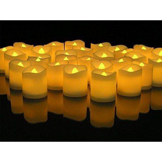 Home Flameless Tea Lights Fake Candles