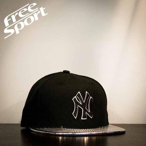 Cappello New Era New York Yankees http://freesportstyle.com/new-era/74-ny-yankees-nero-visiera-argento.html