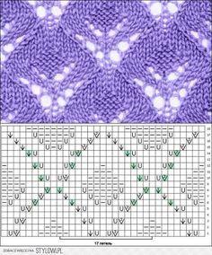 Kira knitting: Knitted pattern no. 47
