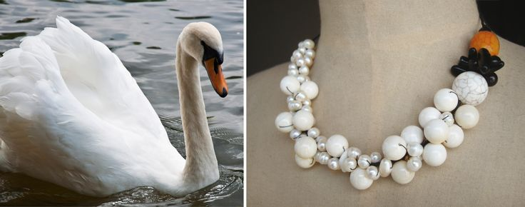 Swan Necklace - Analogie