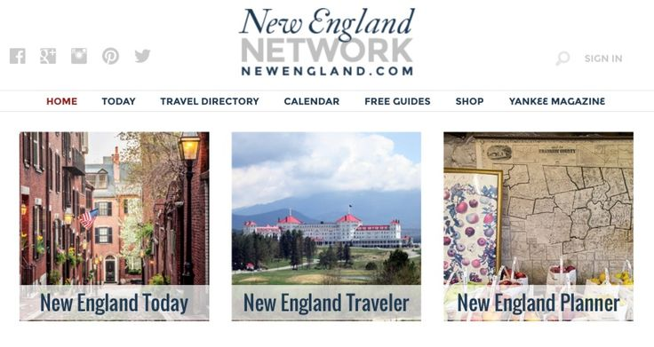 New England Today features the best in New England travel, food, living, fall foliage, and events, plus Yankee Magazine, New England's favorite magazine.