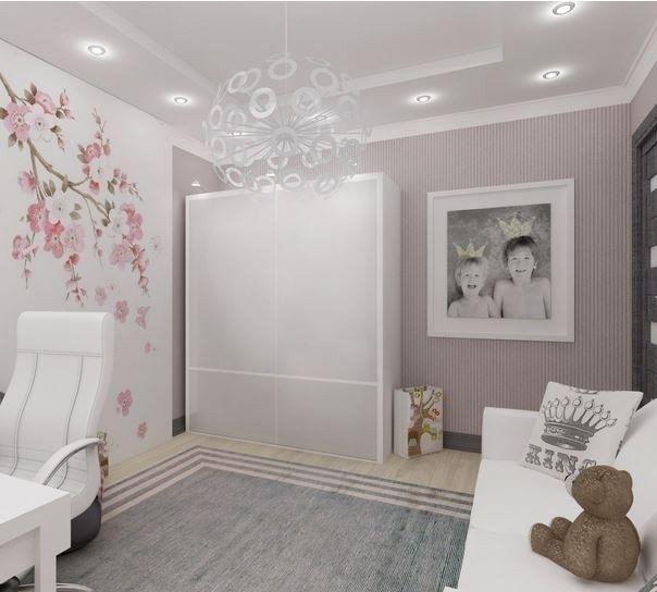 Детская для девочки - Дизайн интерьеров | Идеи вашего дома | Lodgers