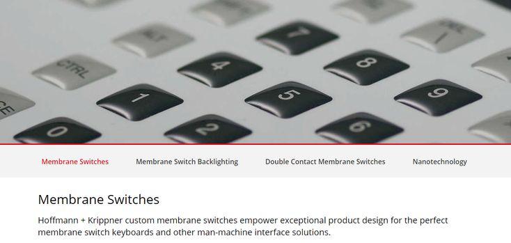 Membrane Switches, Membrane Keypads, Custom Input …