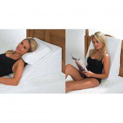 bed relaxer bed wedge support cushion ideal if you find it difficult to sleep lying flat