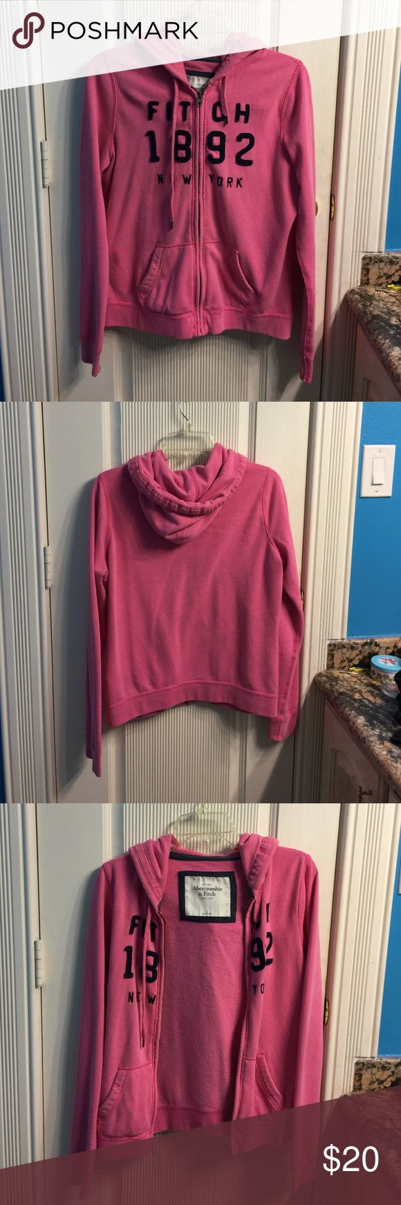 Abercrombie and Fitch Jacket a gently used abercrombie and fitch pink jacket get for school! Abercrombie & Fitch Jackets & Coats