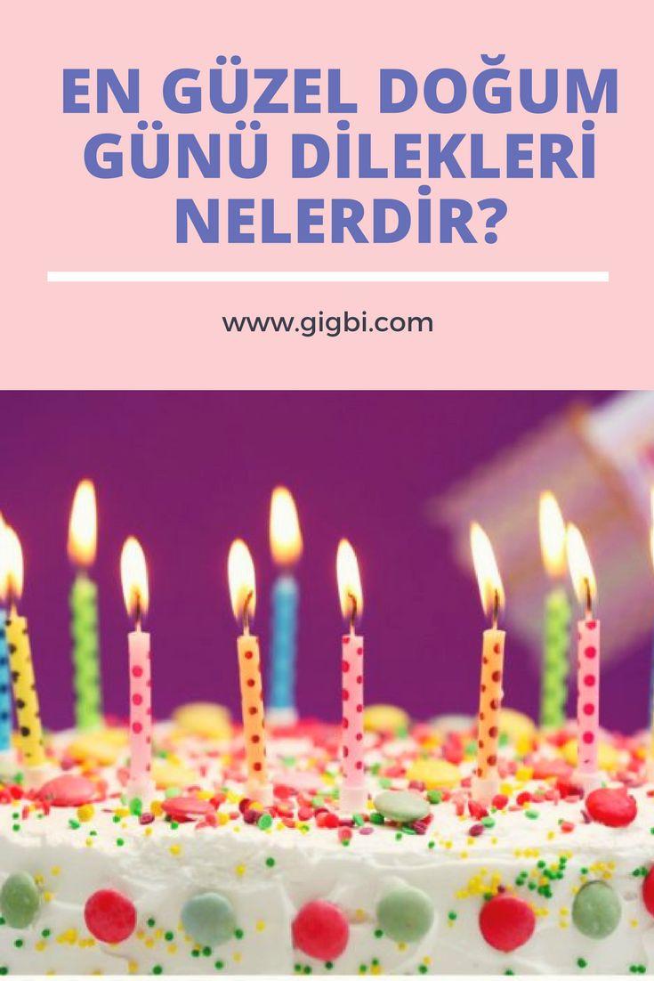 Ogluma En Guzel Dogum Gunu Mesajlari Guzel Sozler Birthday Candles Candles Happy Birthday