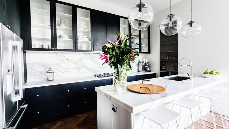 In Pictures: Darren and Dee's contemporary kitchen | The Block Glasshouse | 9jumpin