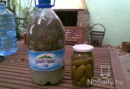 Kovászos uborka télire - tartósítószer nélkül | NOSALTY – receptek képekkel