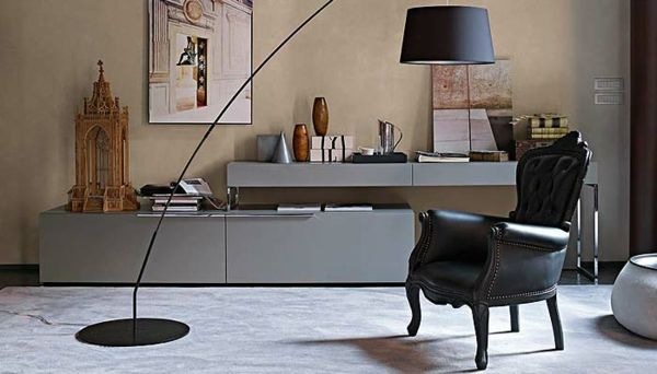 The Italian furniture of B \ B - endless pursuit of perfection