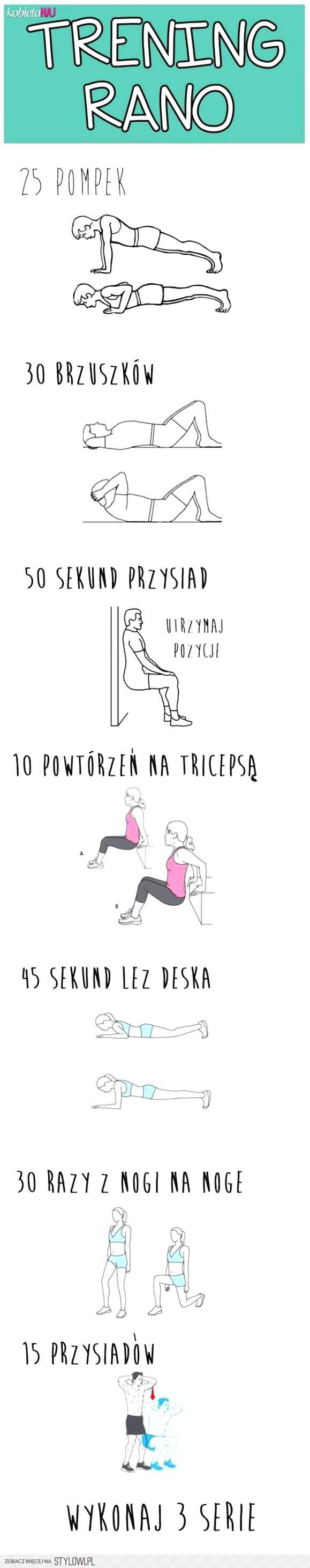 trening rano :) na Stylowi.pl