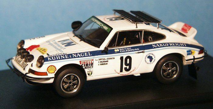 scala43 - 1:43 - Porsche Carrera RS - 1974 Safari Rally - Bjorn Waldegaard - Kühne+Nagel