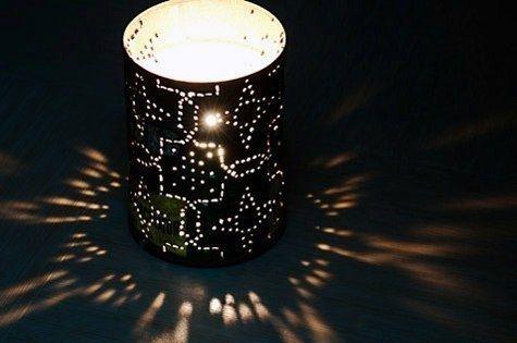 Как сделать садовые фонари