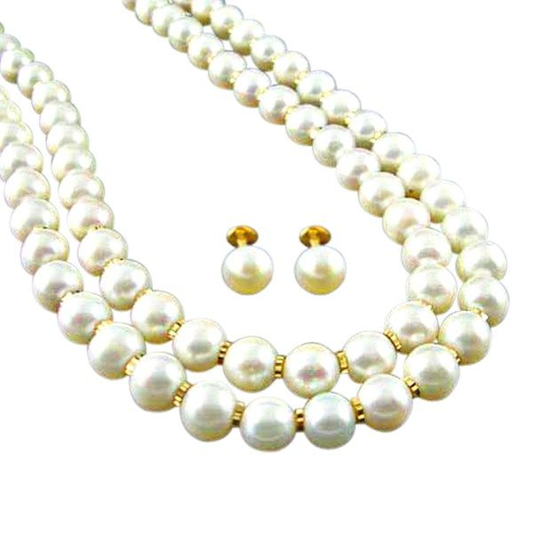 This dazzling pearl gold necklace is perfect for a special occasion. It's a good investment and is the perfect gifting option too.  #pearls #special #wedding