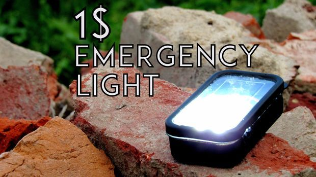 The Ultimate 1 $  DIY Emergency Light via instructables | See more DIY videos here  → http://gwyl.io/