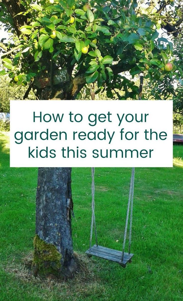 How to get your garden summer reasy and ready for the kids to play in too. Garden thoughts for families in the run up tot he summer holidays...what do you need  to do to  make your garden family friendly