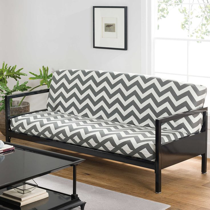 how to make a futon look classy