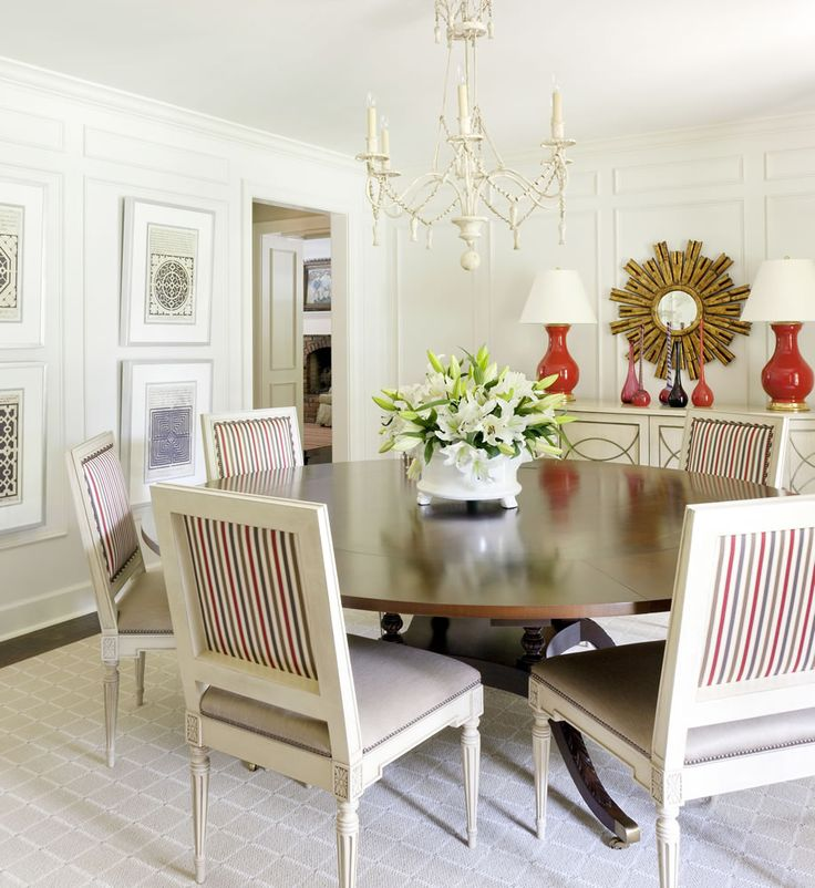 158 best Dining Rooms images on Pinterest | Dining room, Dining ...