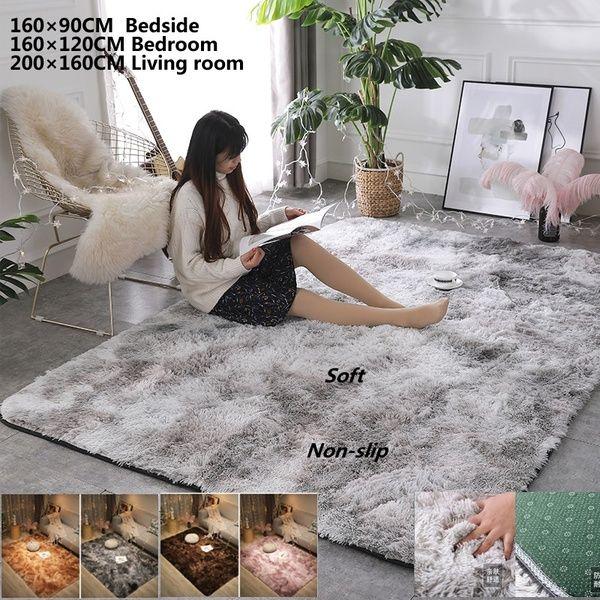 Wish Dreamorn Beautiful Color Soft Fluffy Shaggy Area Shag Rugs For Girls Room Bedroom Living Room Carpet Texture Soft Carpet Shag Rug