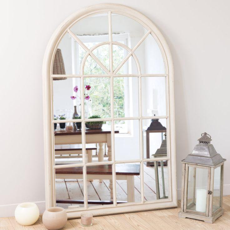 Miroir beige h 150 cm mod le maison miroirs et maison du monde - Maison du monde 94 ...