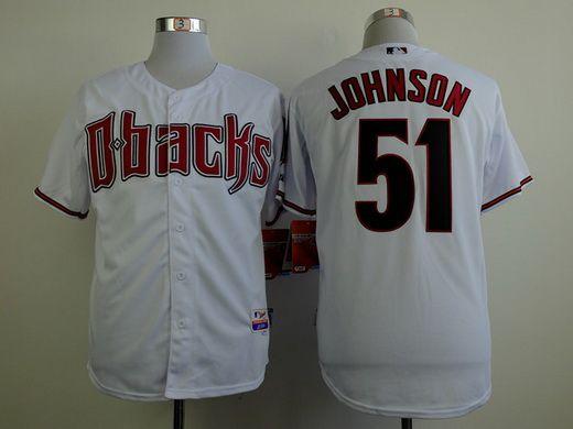 8c4a6e412 ... MLB Jersey Mens Arizona Diamondbacks 51 Randy Johnson White Jersey Mens  New Era Purple Arizona Diamondbacks Turn Back the Clock ...