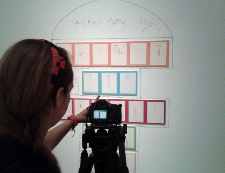 """Grabando reportaje sobre la exposición """"Ver para crear"""" en TEA Tenerife Espacio de las Artes."""