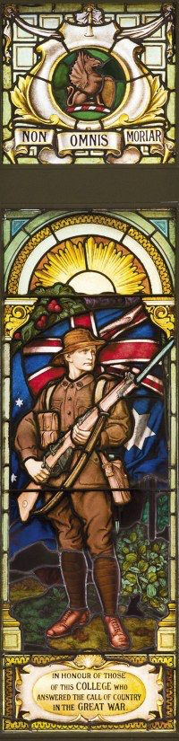 Teachers College of Melbourne Memorial Stained Glass Window
