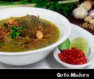 Soto Madura - Indonesia  (Beef Yellow Soup)