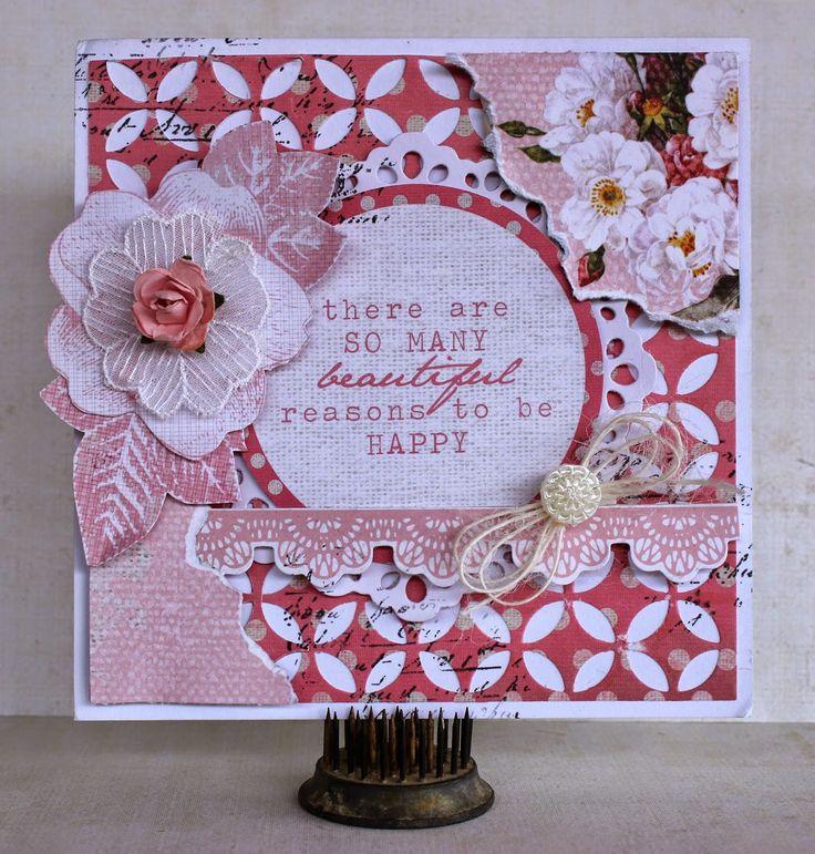 Kaisercraft - Oh So Lovely - Shabby Chic Card 1