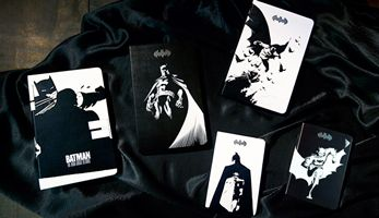 Moleskine joins Batman in Gotham City