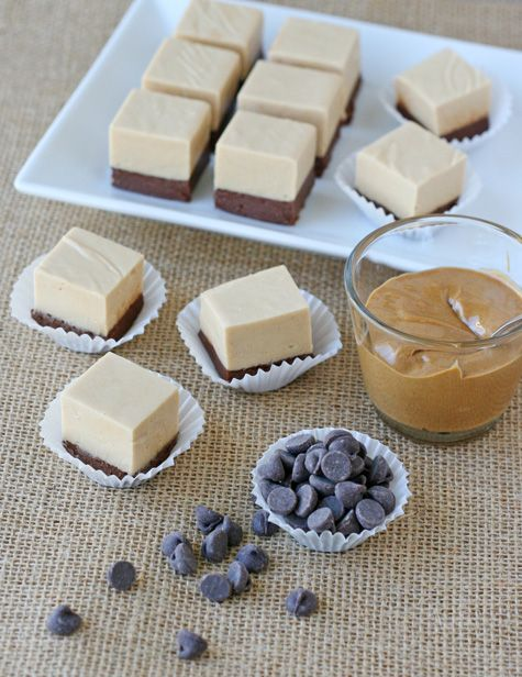 Chocolate Peanut Butter Fudge - Smooth, creamy and oh so delicious!!