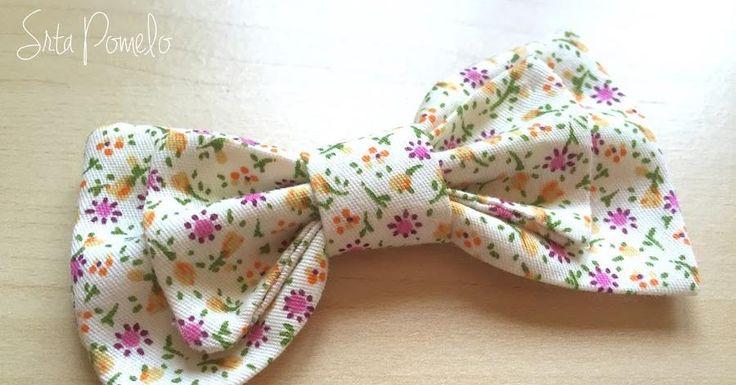 Gracias a este tutorial de costura vamos a aprender a elaborar lazos de tela perfectos.