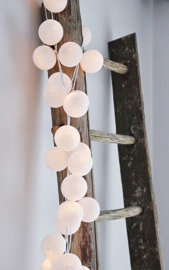 Cotton balls lichtslinger
