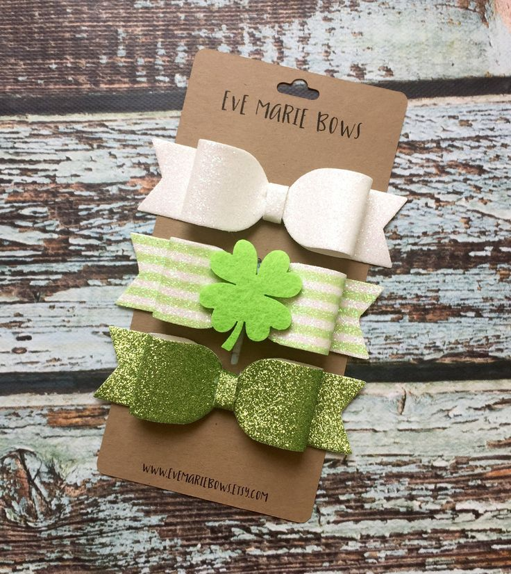 St Patricks Day Headband, St Patricks Day Hair Bows, St Patricks Day Baby, St Patricks Day Outfit by Evemarieboutique on Etsy