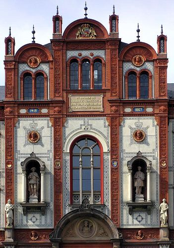 The University of Rostock (Germany) founded in 1419, is the oldest university in the Baltic region.
