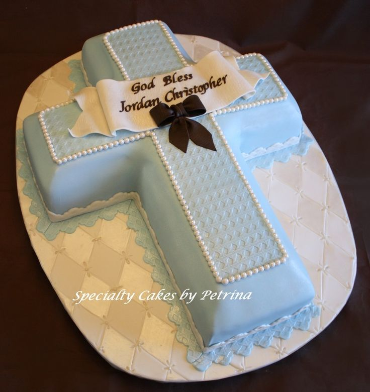 crucifix cake | Cross Cake - Specialty Cakes by Petrina, LLC