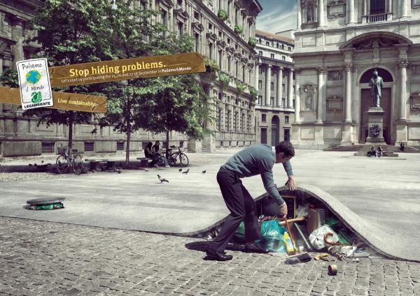 advertising, Awareness, campaigns, creative, Environmental, Inspiration, posters, global, warming, recycle,