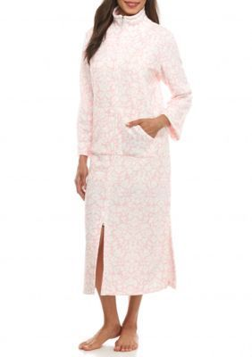Miss Elaine  Long Brushback Terry Robe