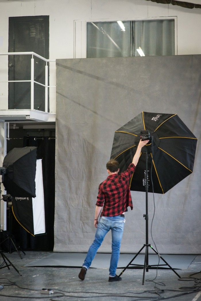 maven46 editorial backstage with Luise O'reilly