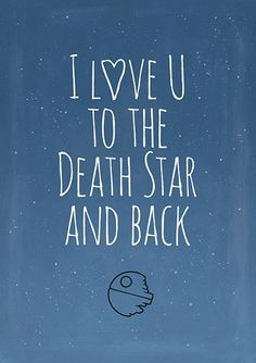 This would make a great Valentine for a Star Wars fan!