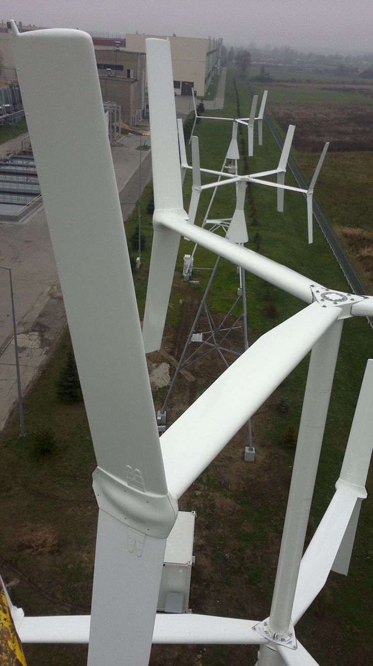 30 Best Wind Turbin Energy Images On Pinterest Solar Power Automatic Ac Transfer Switch Ecorenovator View From The Top Of A Unique 2 Level Vertical Turbine