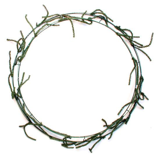 Wire Wreath Frame With Ties by Ashland, 24""