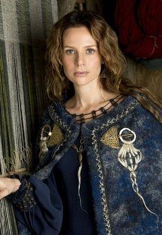 felted wool cloak, Vikings tv show                                                                                                                                                                                 More