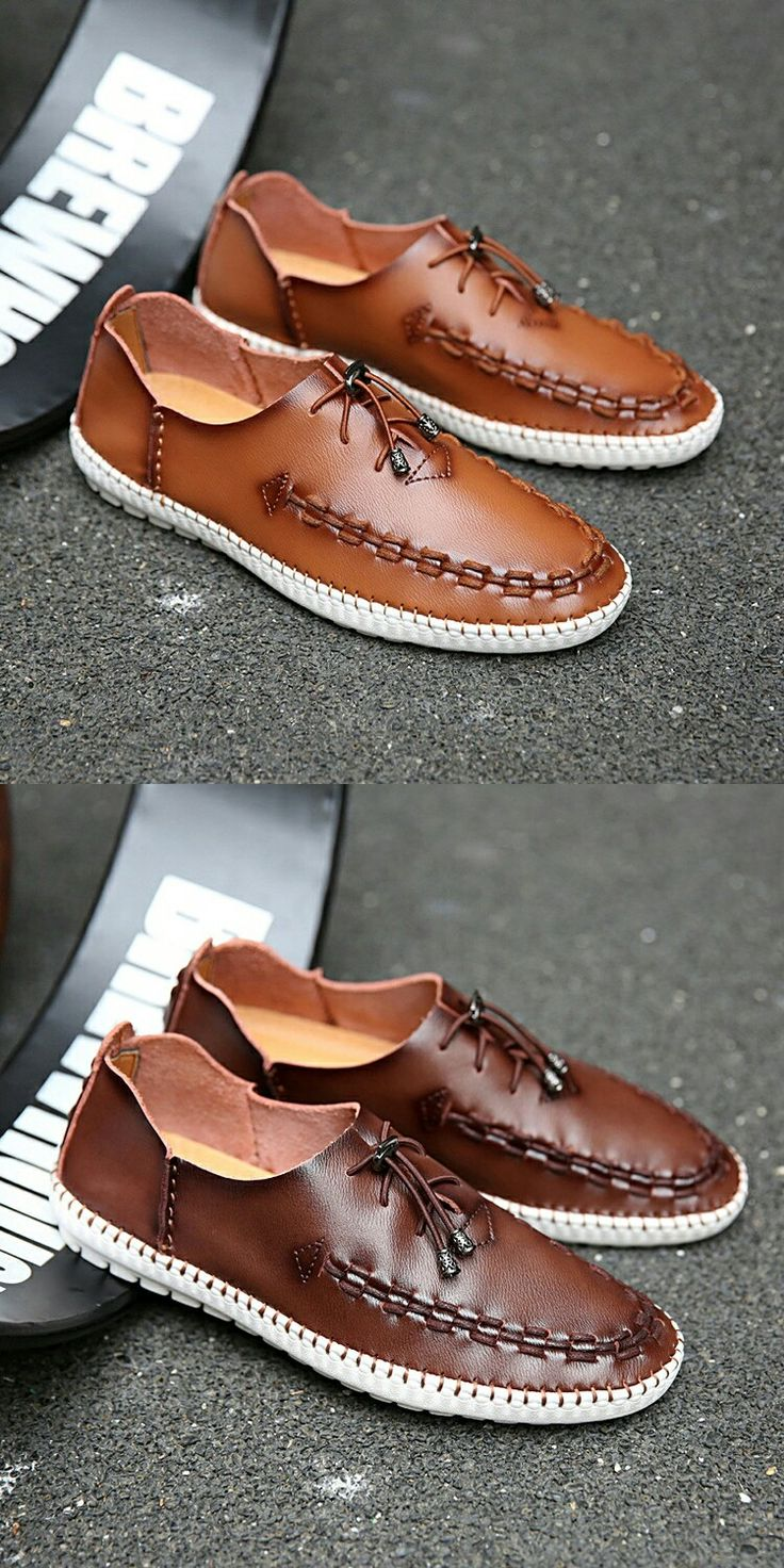 New Arrival Exotic Emo Spring British Style Men Dress Shoes High Quality Genuine Leather Men Slip Ons Zapatos Hombre Soft