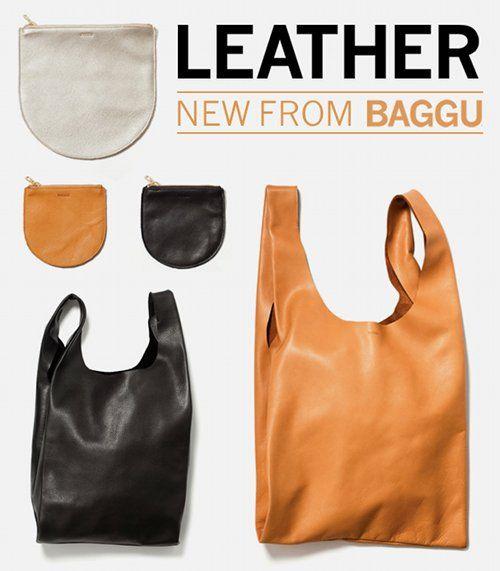 leather baggu