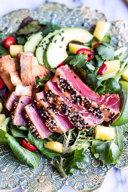 Sliced Beef Salad!